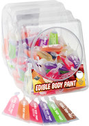 Edible Body Paint 10 Ml 120 Per Bowl Assorted Flavors