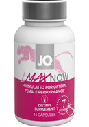 Jo Lmax Now Female Performance Dietary Supplement 14 Pills Per Bottle