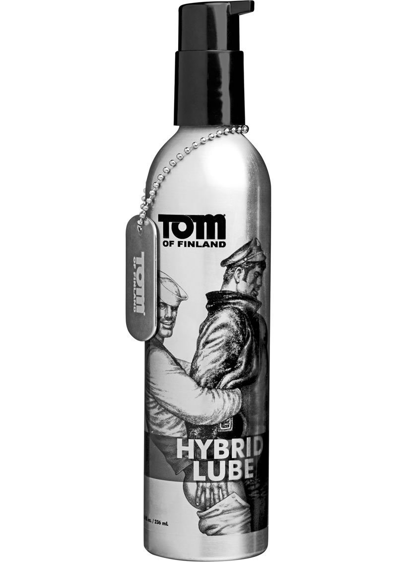 Tom Of Finland Hybrid Lube 8 Ounce